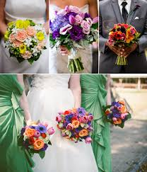 theme wedding bouquets wedding flowers summer wedding bouquet themes the