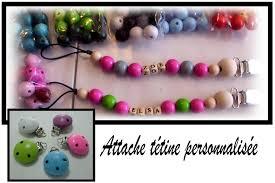 perle en bois pour attache tetine attache tétine vicky création