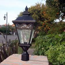 outdoor post light fixtures l post lights you ll love wayfair