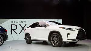 lexus new 2015 2016 lexus rx news and photos from the new york auto show