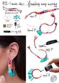 earrings ideas 35 diy ideas for bracelets and earrings beautyharmonylife