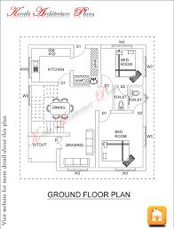4 bedroom single floor house plans kerala style 7 nobby design in