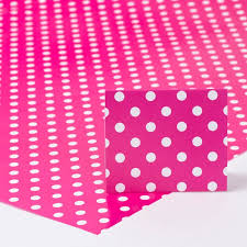 pink wrapping paper pink polka dot wrapping paper gift tag only 59p