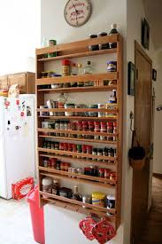 kitchen spice rack ideas wall mounted spice rack home design