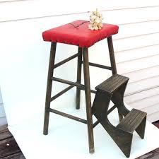 stools step stool folding wooden kitchen step stool folding wood