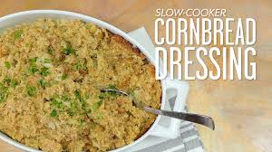 cooker cornbread dressing thanksgiving made easy southern