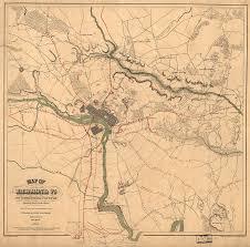 Richmond Va Zip Code Map by Vintage Richmond Va Rebel Defense Map 1864 Drawing By