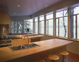 Lake House Kitchen by Architect Visit Eric Cobb Cascade Lake House Gardenista