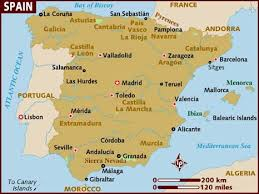 maps of spain map of spain