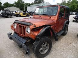 jeep orange 2001 jeep wrangler sport orange