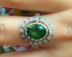 emerald rings uk emerald ring edwardian etsy uk