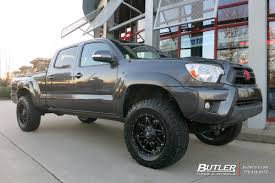 tacoma lexus wheels toyota tacoma with 18in fuel hostage wheels exclusively from
