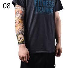 2pcs nylon fake temporary tattoo sleeve arm stockings tatoo for