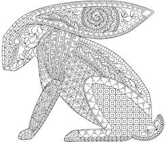 zanimals rabbit coloring coloring book pages