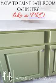 bathroom vanity paint ideas how to paint a bathroom vanity like a professional