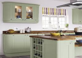 Light Colored Kitchen Cabinets Kitchen Wonderful Sage Green Painted Kitchen Cabinets Repainted
