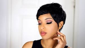 how to pixie cut 27 piece quick weave crazy beauty hair youtube