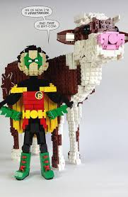 Lego Meme - bat cow and robin lego know your meme