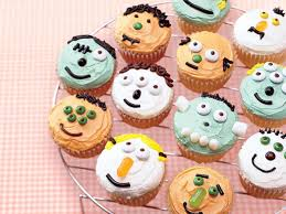 Halloween Cupcakes by Cute Halloween Cupcake Recipes U0026 Ideas Myrecipes
