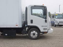 isuzu landscape truck 2014 used isuzu npr hd 16ft box truck with lift gate at