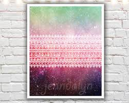 celestial home decor bohemian art boho chic decor boho art giclee print mixed