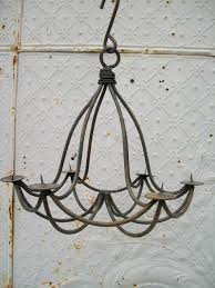 Outdoor Iron Chandelier Lighting Non Electric Chandelier Lighting Non Electric