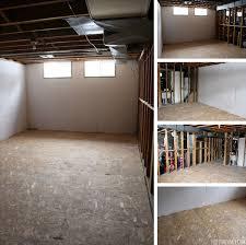 basement renovation dricore subfloor installation basement