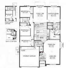 villa home plans emerald island 3 4 5 6 7 bedroom townhome villa home floor plans