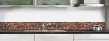 brique de verre cuisine crédence de cuisine briques anciennes rouges c macredence com