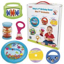 babys birthday halilit baby s birthday band musical instrument gift set