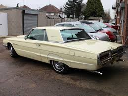 1964 ford thunderbird automatic in harvest moon yellow 3 9cu inch
