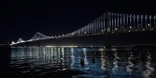 Bay Bridge Lights Bay Bridge Light Show San Francisco Travelers Guide