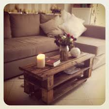 Pallet Furniture Side Table Palet Table For The Home Pinterest Gray Pallets And Pallet