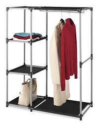 Dorm Room Shelves by Amazon Com Whitmor Garment Rack With Shelves Home U0026 Kitchen