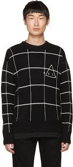dan howell sweater on exact mcq mcqueen black end