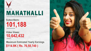video youtube film hot india top south indian youtube channels and how much they earn annually
