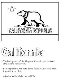 california flag coloring page 28 images california flag and
