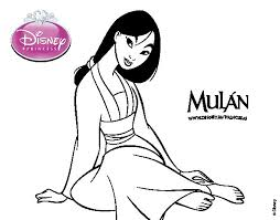 mulan coloring pages games images