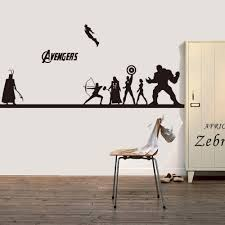 online get cheap diy wall art aliexpress com alibaba group creative diy wall art home decoration iron man avengers 2 hulk captain america boy bedroom living room wall stickers