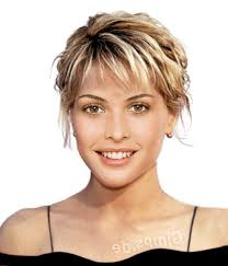 short haircuts for women over 50 with thick hair hairstyle for