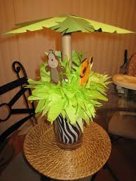Baby Shower Centerpiece Ideas by Jungle Baby Shower Centerpiece Baby Shower Ideas Pinterest