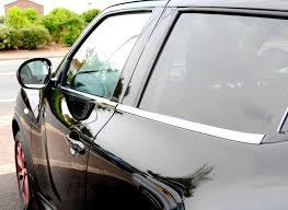 nissan juke chrome pack door window front bumper chrome genuine
