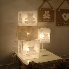 chambre bebe ourson le cube à poser chambre bébé ours blanc organdi 2