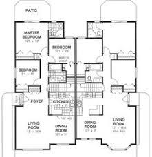 Harriet Grove Ranch Duplex Home Duplex House Plans Duplex House - Custom ranch home designs