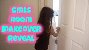 girls surprise diy bedroom makeover reveal youtube