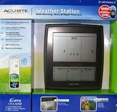 acurite digital weather thermometer home indoor outdoor wireless
