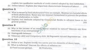icse question papers 2013 for class 10 u2013 economics aglasem schools