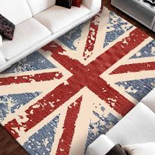 union jack rug carpet with union jack pattern made of colorful