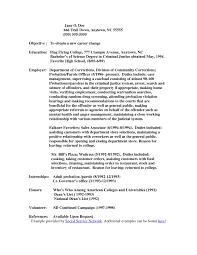 cover letter for correctional officer cover letter for