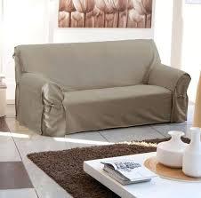 housse de canapé trois places housse canape 3 places accoudoirs de avec accoudoir en bois